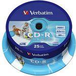 VERBATIM 43439 CD-R Rohlinge 25er Spindel für 7,99€ (statt 10€)