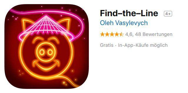 iOS: Find–the–Line kostenlos (statt 3,49€)