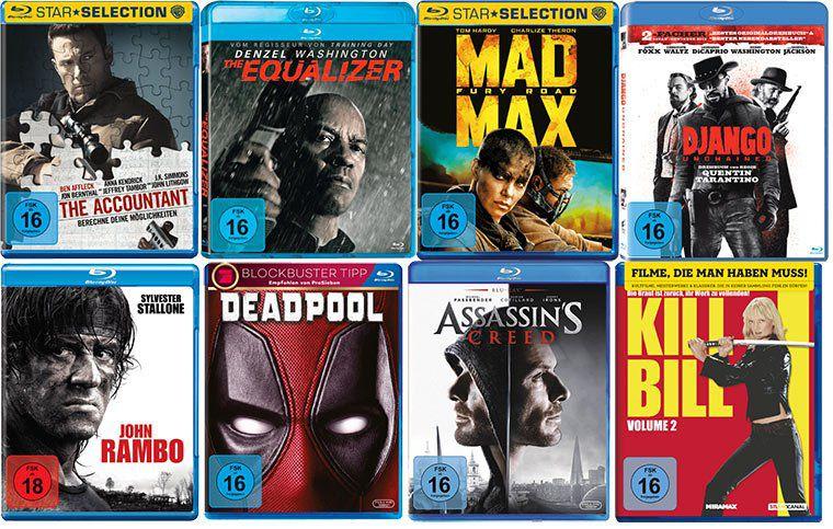 MediaMarkt: 3 Blu rays für nur 15€