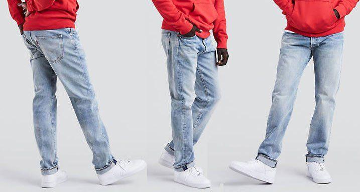 Levis 501® Original Fit Warp Stretch Jeans Mowhawk Warp für 40€ (statt 64€)