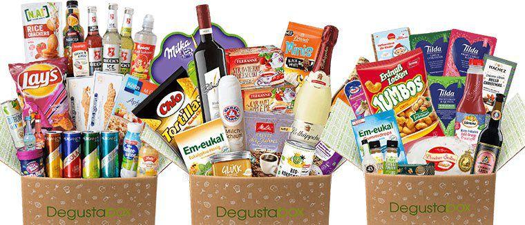 Degusta Box Überraschungspaket mit Leckereien für 7,99€ (statt 15,99€)   3 Bonus Artikel geschenkt