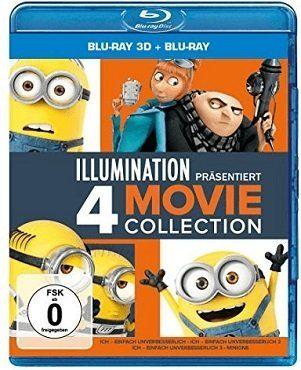 Ich   Einfach unverbesserlich 1 3 + Minions als Blu ray für 39€ (statt 55€)