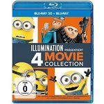 Ich – Einfach unverbesserlich 1-3 + Minions als Blu-ray für 39€ (statt 55€)