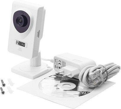 INSTAR IN 6001HD IP Kamera mit 1280 x 720 Pixel in Weiß für 79€ (statt 100€)