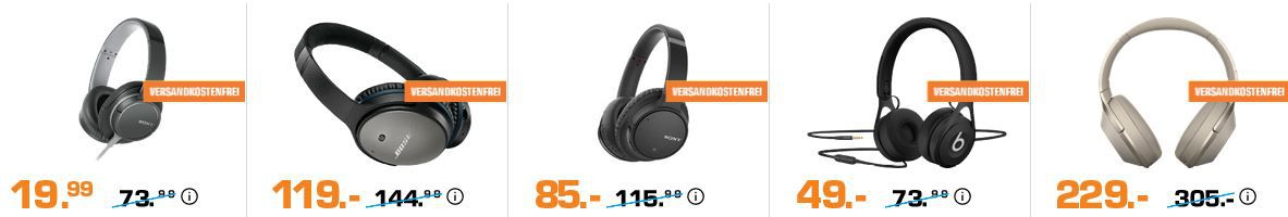 Saturn Late Night Aktion: günstige günstige Audio & Kopfhörer   z.B. Anker SoundCore Mini 2 für 22€ (statt: 38€)