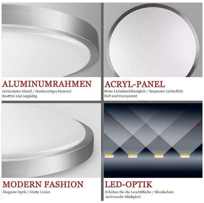 LED Deckenleuchten mit 30% Rabatt – z.B. 24W LED Deckenleuchte mit Farbwechsel für 17,49€ (statt 25€)