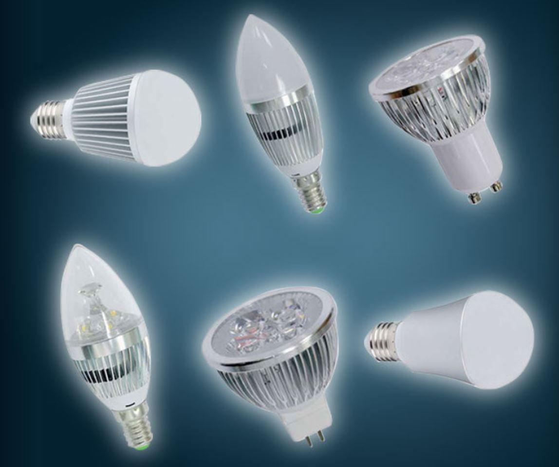 5er Set LED Leuchtmittel in div. Varianten für nur 6,50€
