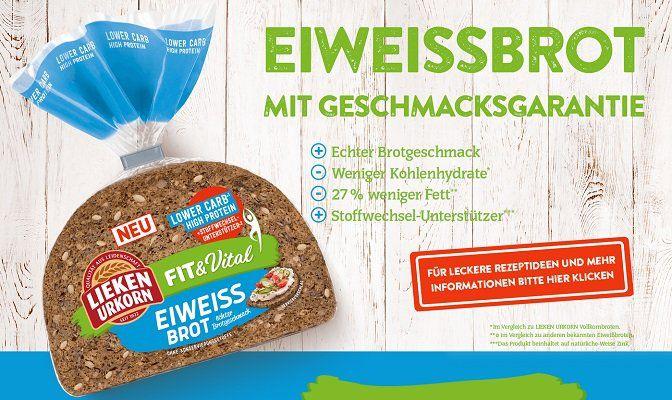 Gratis: Lieken Urkorn Fit & Vital Eiweißbrot