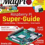 6 Ausgaben MagPi für 54,80€ + 35€ Amazon Gutschein