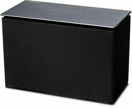 MEDION Lifebeat X61073 WLAN Lautsprecher in Schwarz/Silber für 34€ (statt 83€)