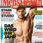 4 Ausgaben Men's Health für 17,70€ + 16,20€ Verrechnungsscheck