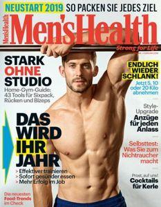 Mens Health Jahresabo mit 10 Ausgaben für 54€ + 50€ Bestchoice Gutschein