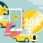 mytaxi Februar Sammelwochen: Fahrten per App bezahlen und bis zu 22€ in Gutscheinen erhalten