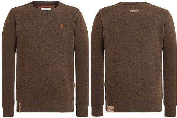 Naketano Sweatshirt Cevapcici Günther in S bis XL für 24,32€ (statt 50€)