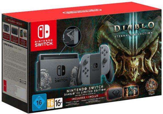 Top! Nintendo Switch Diablo III Limited Edition ab 278,10€ (statt 368€)