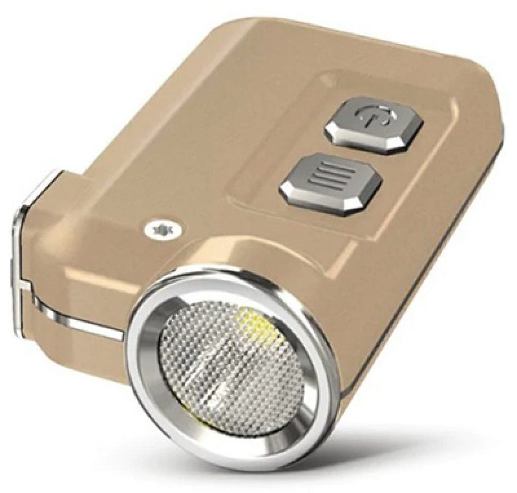 Nitecore G2 S3 Tini LED Lampe mit aufladbarem Akku + bis zu 60 Stunden für 14,77€
