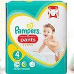 Gratis: Pampers Pants Probierpaket & 3€ Rabatt