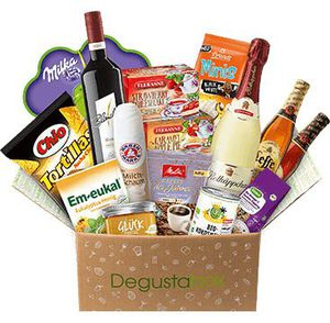 50% auf Degusta Box – Überraschungspaket mit Leckereien für 7,99€ (statt 15,99€)   TOP!