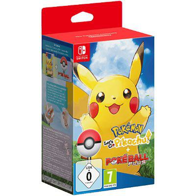 Pokémon: Lets Go, Pikachu + Pokéball Plus (Switch) für 49€ (statt 83€)