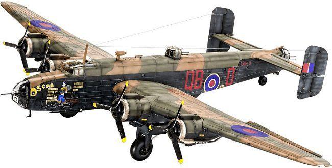 REVELL Handley Page Halifax B MK.III Modellflugzeug für 14,99€ (statt 22€)