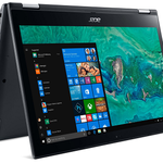 Acer Spin 3 (SP314-51-56VS) -14″ FHD-Convertible mit 4GB, 256GB SSD & Win10 für 619€ (statt 677€)