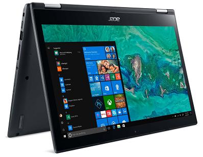 Acer Spin 3 (SP314 51 56VS)  14 FHD Convertible mit 4GB, 256GB SSD & Win10 für 619€ (statt 677€)