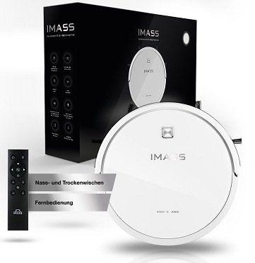 IMASS 2in1 A3 Prime Clean Saugroboter mit Wischfunktion für 139,95€ (statt 181€)