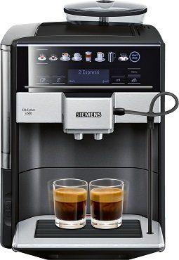 Abgelaufen! SIEMENS TE655509DE Kaffeevollautomat in Saphirschwarz ab 699€ (statt 1.395€)