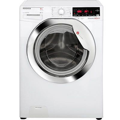Hoover DXOA4438AHC3/2 S Waschmaschine  (A+++, 8kg, App Anbindung) für 289€ (statt 419€)