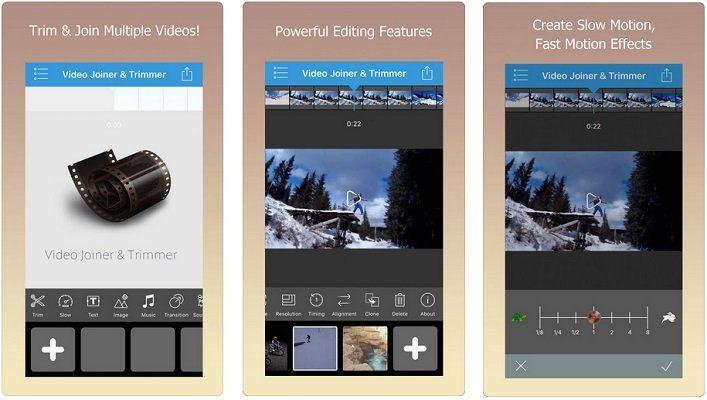Abgelaufen! iOS: Video Joiner & Trimmer Pro kostenlos (statt 3,49€)