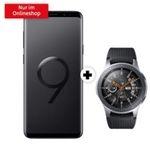 Samsung Galaxy S9+ mit Galaxy Watch 46mm für 49€ + o2 Free M mit 20GB LTE für 34,99€ mtl.