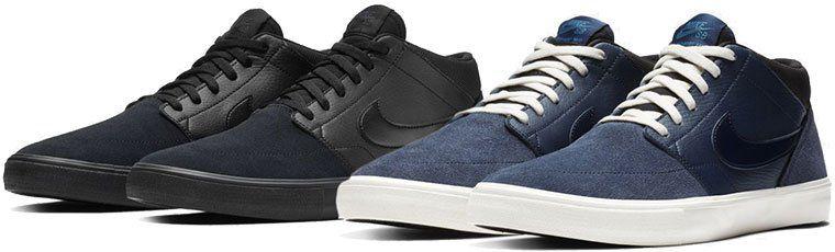 Nike SB Solarsoft Portmore II Mid Herren Sneaker für 41,98€ (statt 71€)