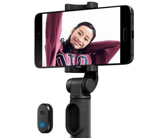 Xiaomi 2in1 Selfiestick mit Bluetooth Auslöser für 12,56€