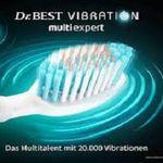 Gratis: Zahnbürste Dr. BEST multiexpert Vibration