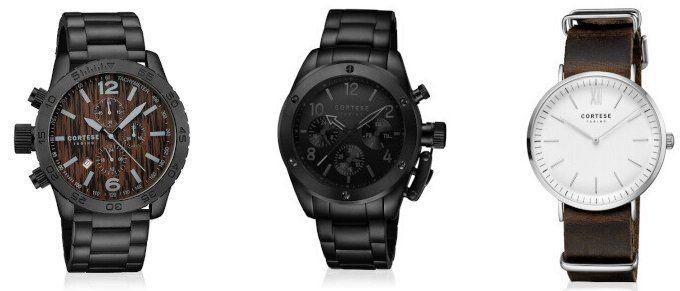 Cortese Sale bei Vente Privee   Uhren mit Leder  oder Edelstahlarmband ab 39,99€