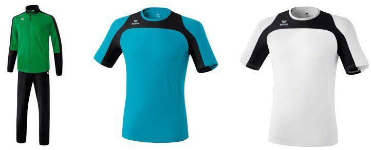 Erima Sale bei Vente Privee mit Sportmode für Damen, Herren und Kinder   z.B. Shirts ab 4,99€