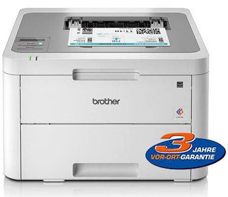 Brother HL L3210CW Farblaserdrucker mit WLAN für 129,90€ (statt 151€)