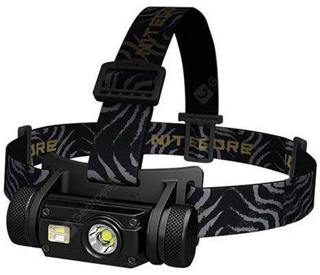 Nitecore HC65   LED Stirnlampe mit 1000LM für 45,55€ (statt 70€)