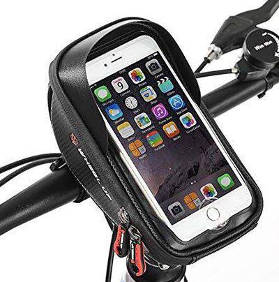 Hikenture Fahrradlenkertasche mit Touchbedienung für 8,44€ (statt 13€)   Prime
