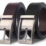 M.R. Wende-Ledergürtel in Schwarz und Braun für 19,99€ – Prime