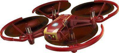 DJI / Ryze Tello Drohne (Iron Man Edition)   Low Budget Einstiegsdrohne für 77€ (statt 89€)