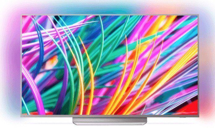 Philips 49PUS8303 49 Ultra HD 4K Fernseher mit Ambilight 3 seitig für 699€ (statt 775€)