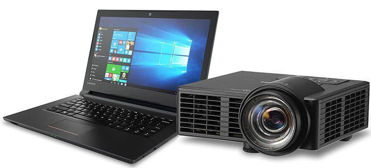 Lenovo V110 14IAP 14 Zoll Notebook + Ricoh PJ WXC1110 mobiler LED Beamer für 599€ (statt 743€)