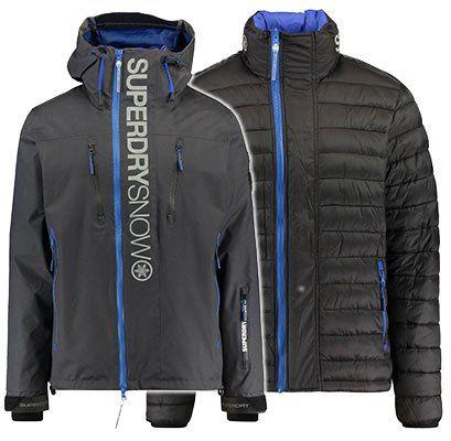 Superdry Herren Ski  & Doppeljacke ″Super SD Multi Jacket″ für 130,91€ (statt 195€)