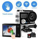 ABOX 4K Action-Cam mit Touchscreen & Fernbedienung für 24,99€ (statt 50€)