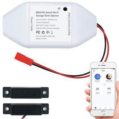 Meross MSG100 Smart WLAN Garagenöffner via App für 31,99€ (statt 70€)