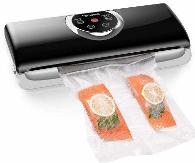 Homgeek Vakuumierer für Lebensmittel mit eingebautem Cutter für 35,99€ (statt 45€)