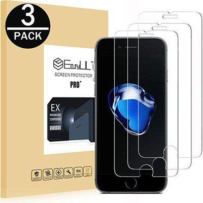 3er Set Panzerglasfolien für iPhone 7/8 für 3,99€ – Prime