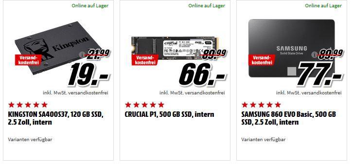 Media Markt kleine Speicher Tiefpreisspätschicht: z.B: SANDISK SanDisk Extreme USB Stick 128GB für 33€