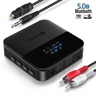 Bluetooth 5.0 Audio Transmitter & Empfänger für 24€ (statt 40€)